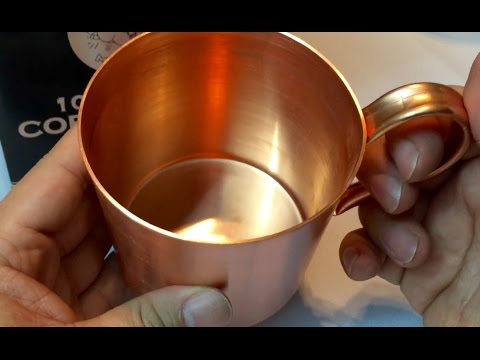 Moscow Mule Copper Mug (100% Pure Without Lining) by Unique Barware
