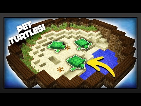 Minecraft - How To Make A Turtle Enclosure