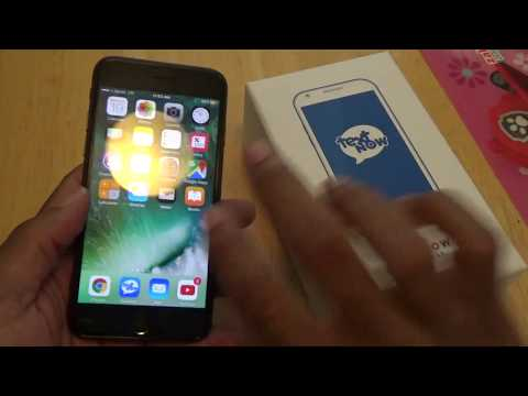 iPhone 7 TextNow Wireless Review [From An Android USER]