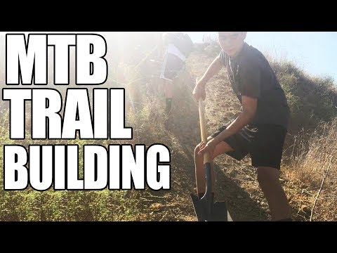 TRAIL BUILDING | Mountain Bike Trail Maintenance