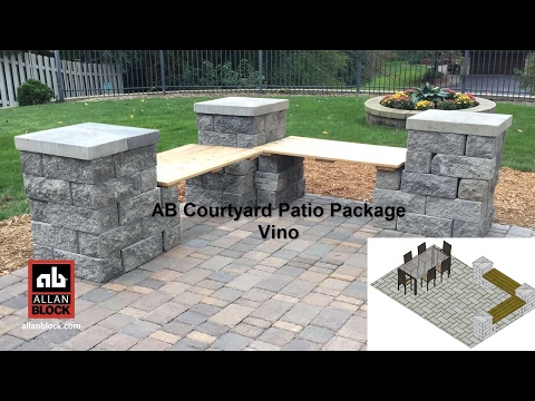 AB Courtyard Patio Package Vino