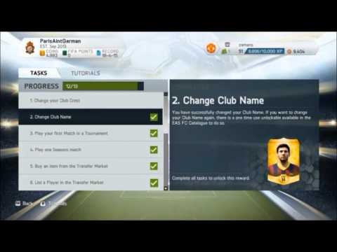 FREE GOLD PACK TUTORIAL!! - Manager Tasks - FIFA 14 Ultimate Team