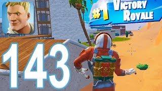 Fortnite - Gameplay Walkthrough Part 143 - Solo Win (iOS)