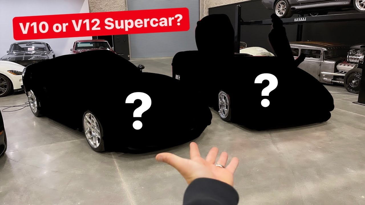 SHOPPING FOR MY 19 YR OLD DAUGHTERS SUPERCAR SURPRISE!