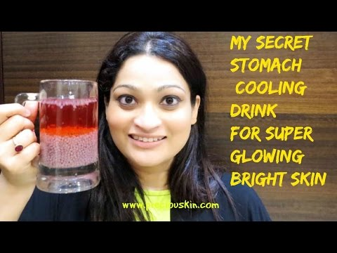 My Secret Body Cooling Drink for Glowing Bright Skin | Pimple Free Drink |