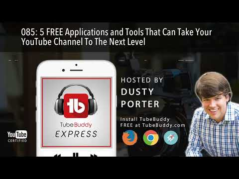 5 FREE Tools That Can Take Your Channel To The Next Level!