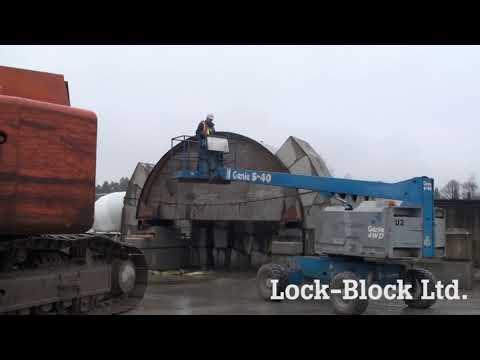 6m arch deconstruction