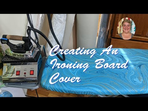 Creating An Ironing Board Cover