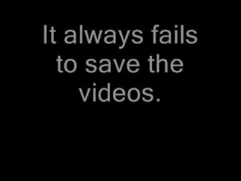 Windows Movie Maker error