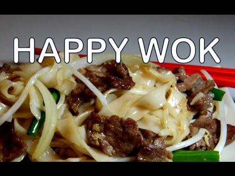 牛肉面側翼 Stir Fry:   Chow Ho Fan Noodles with Beef Flank