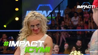 Grado Asks Laurel Van Ness To Go On A Date On IMPACT | #IMPACTICYMI July 13th, 2017