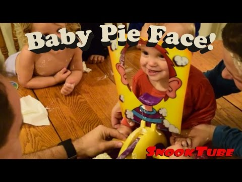 9 month old plays pie face and loves it!