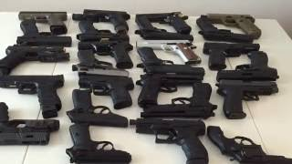 My Airsoft Pistol Collection 2015 - Wings Li HDTV
