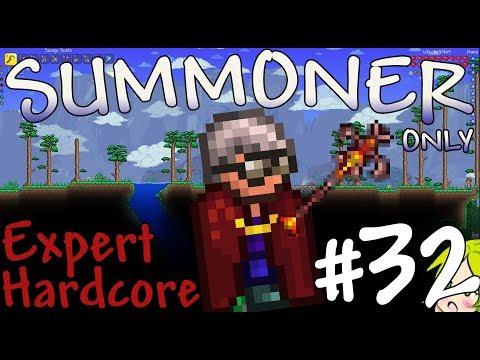 Terraria Expert Hardcore Summoner Only #32