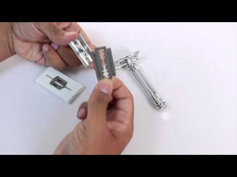 How to change blades for a Merkur 38C Safety Razor