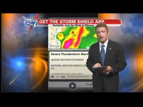 Mike Nelson Shows How Our Storm Shield App Works