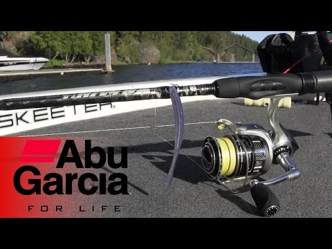 Bass Fishing Dropshot Tips [Abu Garcia REVO STX and Villain 2.0]