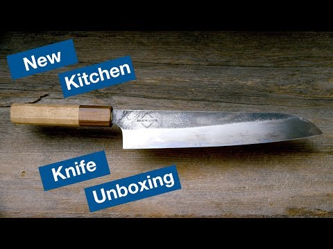 New Knife Unboxing! A Tour Of The Knives We Use || Le Gourmet TV Recipes