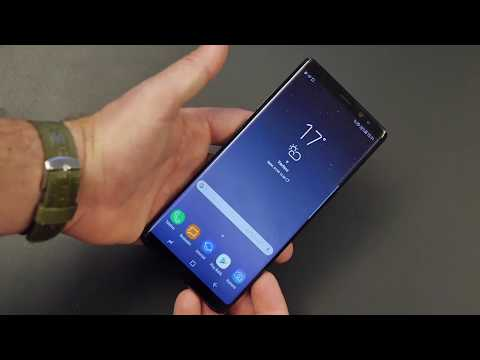 Samsung Galaxy Note 8 unboxing