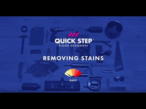 How to remove stains from a laminate floor | Tutorial by Quick-Step