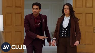 Download Miracle Workers' Geraldine Viswanathan and Karan Soni on the tragic overuse of ″miracle″ Video