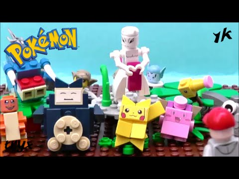 Lego Pokemon Mewtwo Brick-Figure!