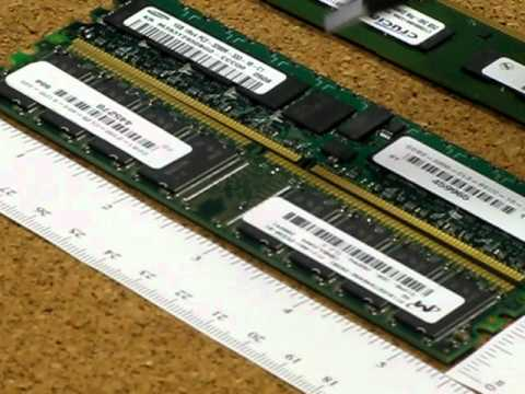 Differences between Laptop, Server and Desktop DDR1 DDR2 and DDR3 Memory