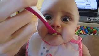 Picky Baby Tries Avocado For First Time Ever (Storyful, Baby)