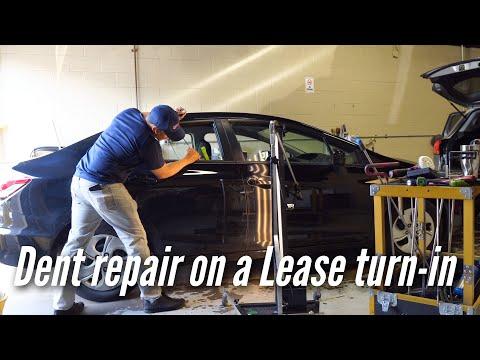Honda Civic Dent Repair for Car lease turn in | Dentless Touch | Washington DC