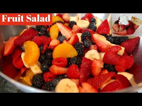 Easy Fruit Salad Recipe: How To Make Fruit Salad With Simple Syrup