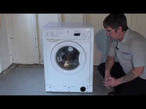 How to clean & replace the filter on a Washing Machine (Indesit)