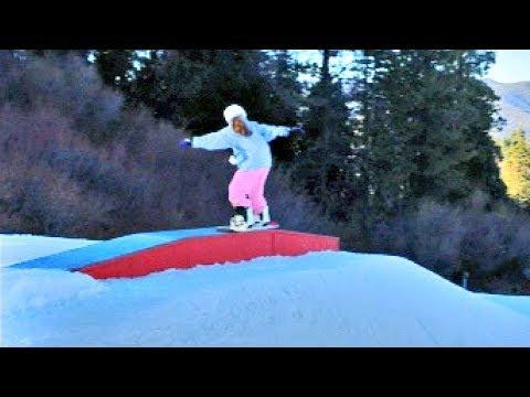Family Snowboarding Trip!