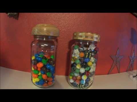 Finished product #1Decorative Mason Jar Lids
