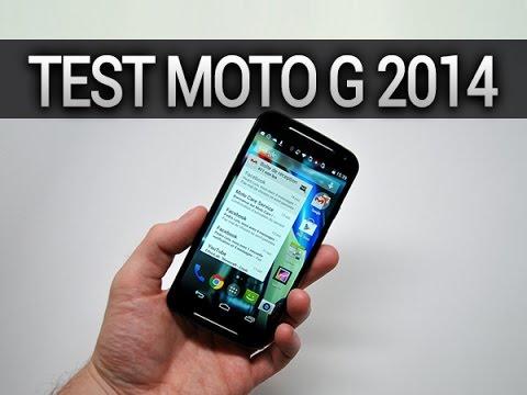 Test du Motorola Moto G seconde génération (2014) - par Test-Mobile.fr