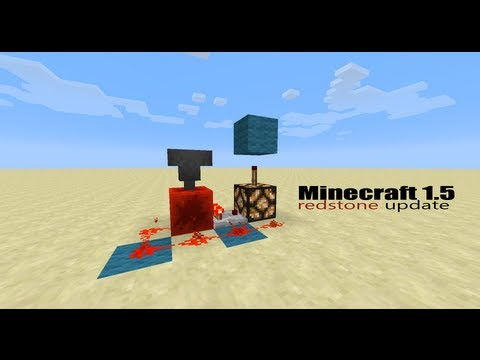 Minecraft 1.5 - The Hopper Minecart & Detector rails