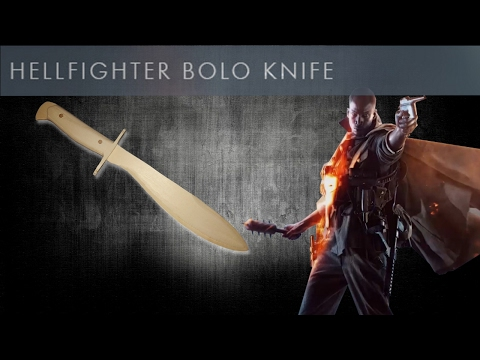 The Hellfighter Bolo Knife [Battlefield 1] - Free templates