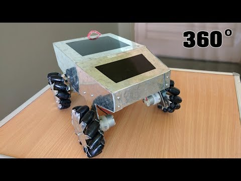 How to Make a Robot with Mecanum wheels at Home