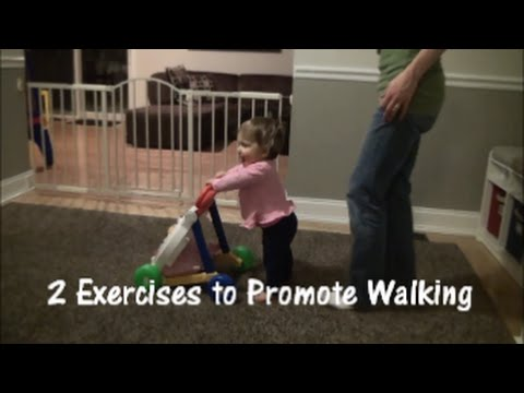 Exercises to Help Baby Walk