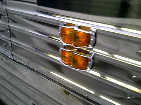 Prevost Stainless Steel Panels