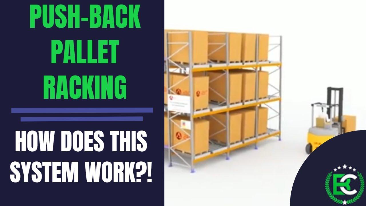 Push-Back Pallet Racking   🚚 Pallet Racking Suppliers 🚚   Push Back Dynamic Pallet Racking Systems