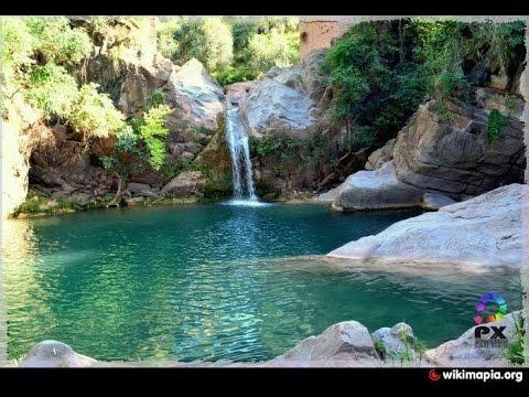 Beautiful Waterfall in pakistan with chakwal