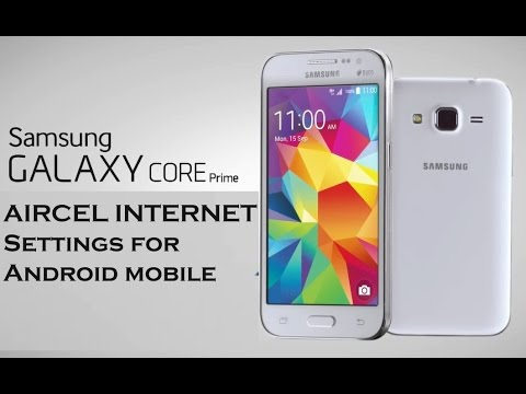 Aircel  2G - 3G   manual internet settings for android