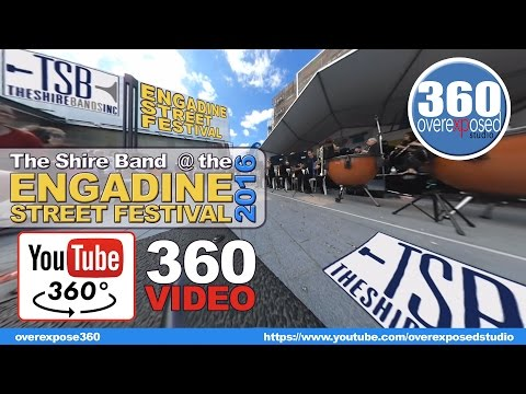 360 Video - The Shire Band at the 2016 Engadine Street Fair