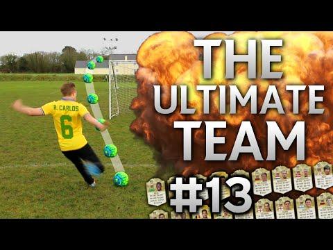 FIFA 16 - ROBERTO CARLOS FREE KICK CHALLENGE | The Ultimate Team #13