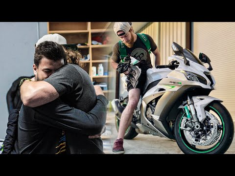 Surprising My Friend with his Dream Motorcycle!