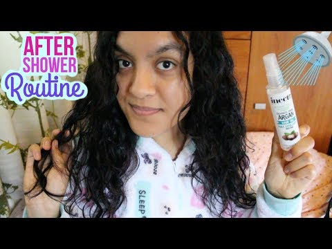 My After Shower Hair and Skin Care Routine