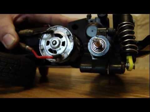 Set up timing in HPI  saturn 20t rc motor.
