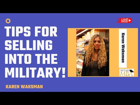 Sell Your Product to the Military