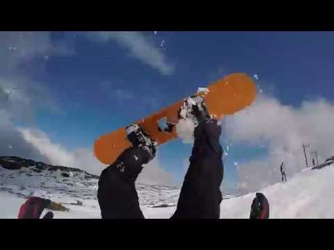 Ben Lomond snowboarding