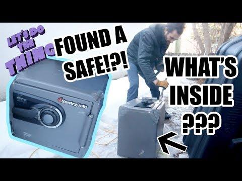 Major Score Dumpster Diving? Mystery Box - Safecracking!